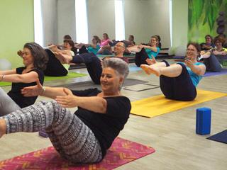 Yogakurse für Unternehmen